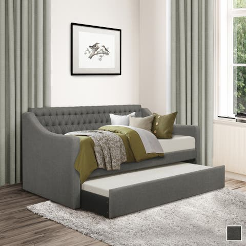 Dover Upholstered Daybed with Trundle