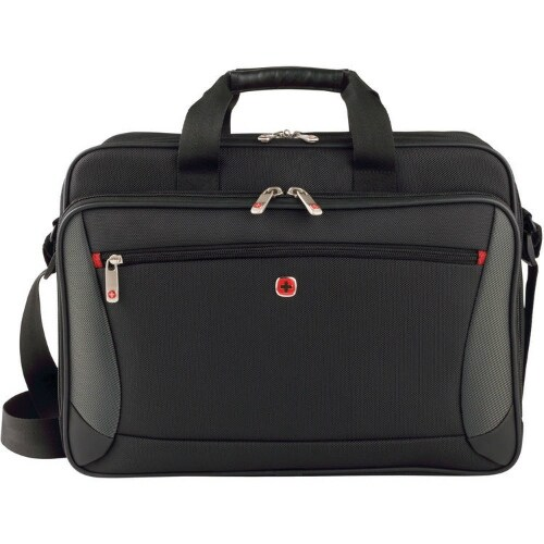 SwissGear Mainframe Case - Black Laptop Slimcase