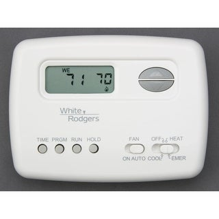 White-Rodgers 1F72-151 Digital 5/2 Day Programmable Thermostat with Energy Manag - White - N/A