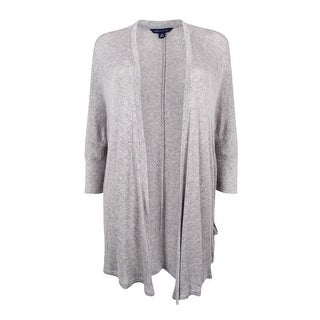 Tommy Hilfiger Women's Holly Draped Open-Front Cardigan (Option: Xs)