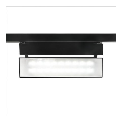 """WAC Lighting WHK-LED42W-30 LEDme Low Voltage 13.875"""" Wide Energy Star 3000K High Output LED Wall Washer Track Head for W-Track"""