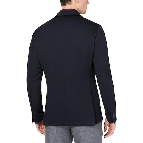 Ryan Seacrest Distinction Mens Repln Performance Two-Button Blazer Stretch