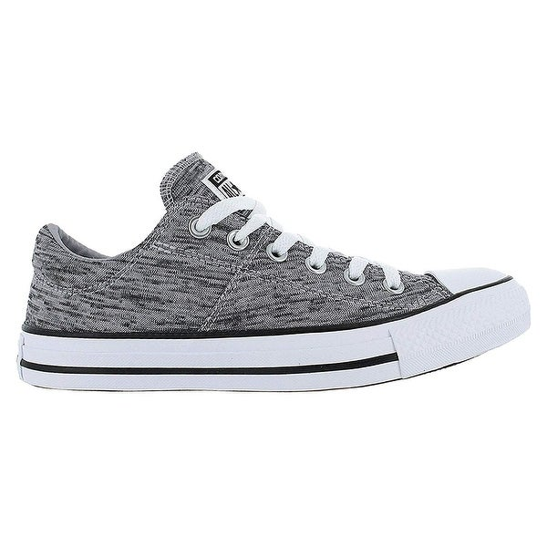 17ea3b3752d Shop Converse Chuck Taylor All Star Madison Ox Black Wolf Grey White  558557F Womens 8 - Free Shipping On Orders Over  45 - Overstock - 25639759