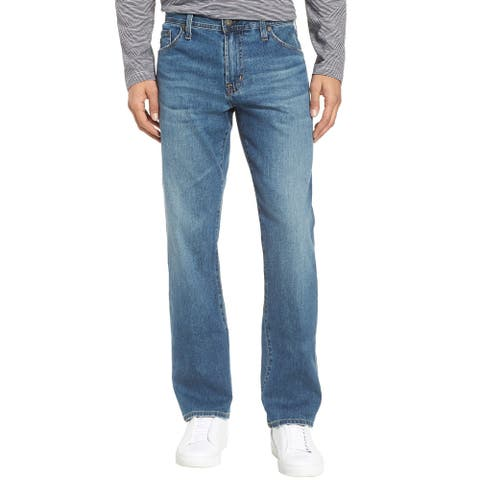 Adriano Goldschmied Mens The Graduate Slim Straight Leg Jeans 38 x 34 Grasslands