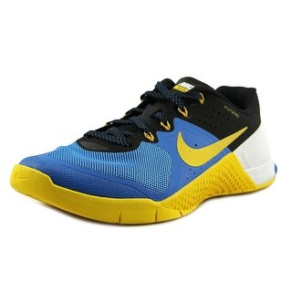 Nike Metcon 2 Men Round Toe Synthetic Blue Sneakers
