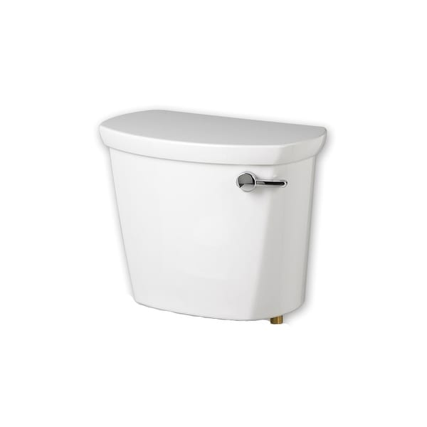 American Standard 4188A.105US Cadet Pro 1.28 GPF Toilet Tank Only with Right Mounted Trip Lever - White