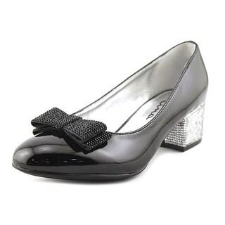 Nina Kids Gisel Round Toe Patent Leather Heels