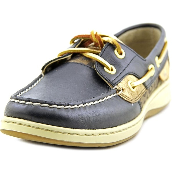 Sperry Top Sider Bluefish Moc Toe Leather Boat Shoe