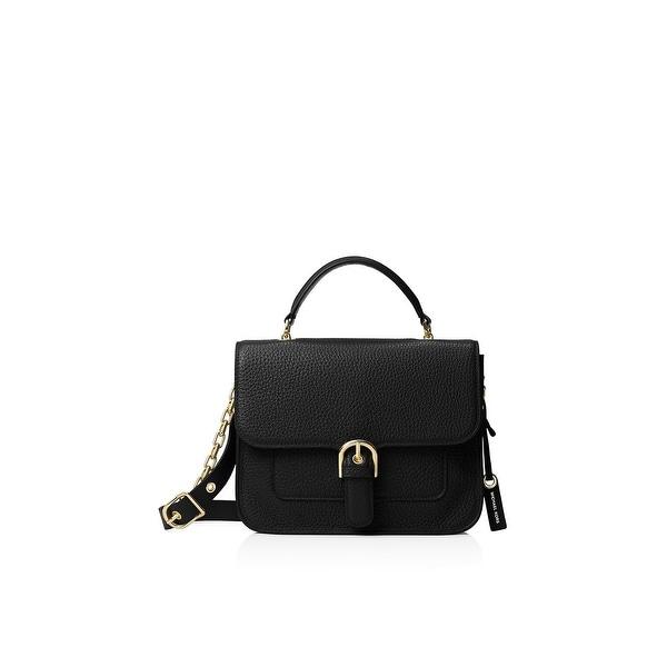 741a85be5e346f MICHAEL Michael Kors Womens Cooper Satchel Handbag Leather Pebbled - MEDIUM