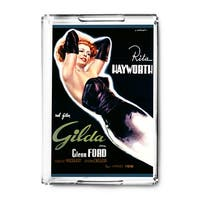 Gilda - Rita Hayworth (Capitani) Vintage Ad (Acrylic Serving Tray)