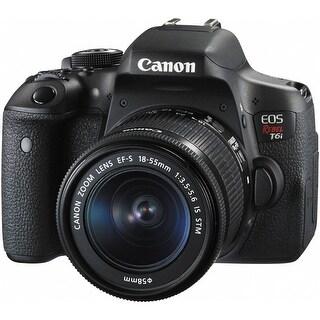 Canon EOS Rebel T6i DSLR Camera w/ 18-55mm IS STM Lens