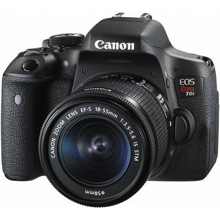 Canon EOS Rebel T6i DSLR Camera with 18-55mm Lens 0591C003