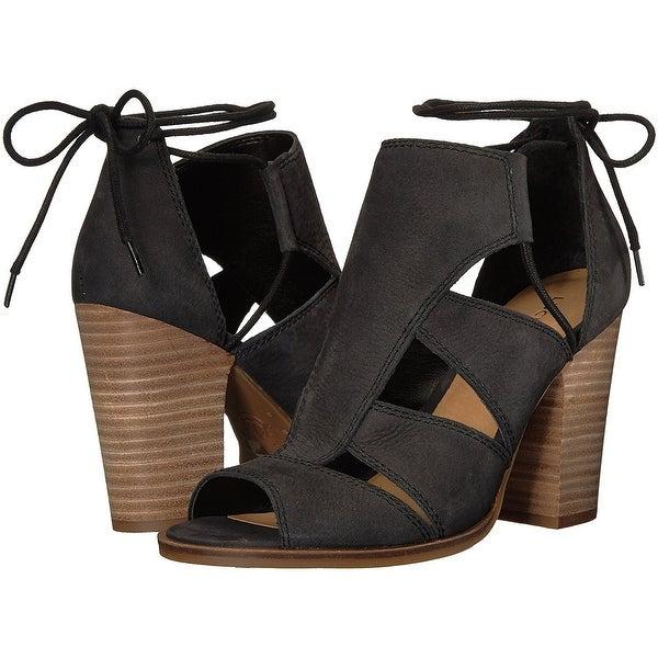 Lucky Brand Womens LK-Lanita Peep Toe Casual Strappy Sandals - 5.5