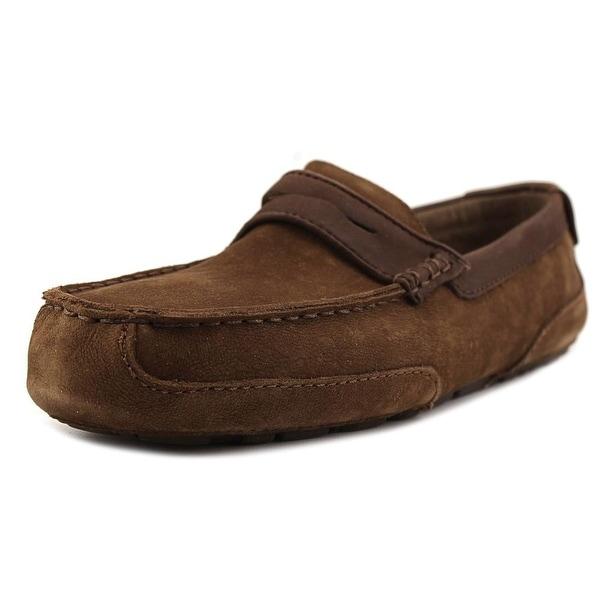 Ugg Australia Tucker Men Moc Toe Leather Loafer