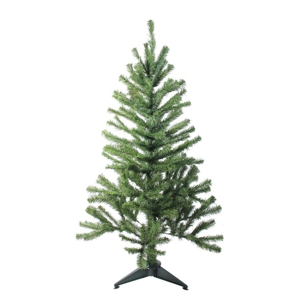 6' Canadian Pine Artificial Christmas Tree - Unlit - green