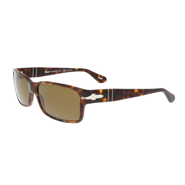 f4b971af3a972 Shop Persol PO2803S 24 57 Havana Rectangle Sunglasses - 58-16-140 ...