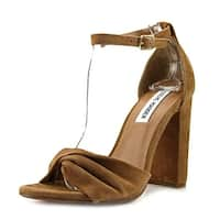 Steve Madden Womens Clever Open Toe Special Occasion Ankle Strap Sandals