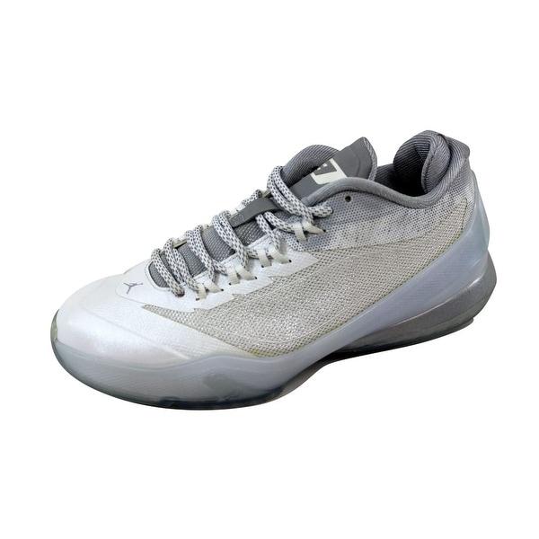 buy online b5ca4 6feed Nike Grade-School Air Jordan CP3 VIII 8 BG White Pure Platinum-Retro