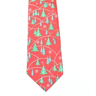 Hallmark NEW Red Green Men's One Size Holiday Traditions Neck Tie