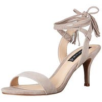 STEVEN by Steve Madden Womens Valen Open Toe Special Occasion Strappy Sandals