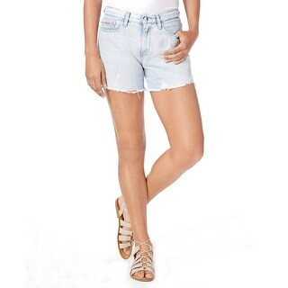 Calvin Klein Jeans Splatter Print Distressed Cutoff Shorts Vintage Splatter - 28