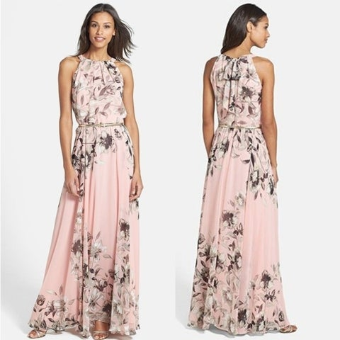Women's Fashion Boho Long Maxi Beach Dress