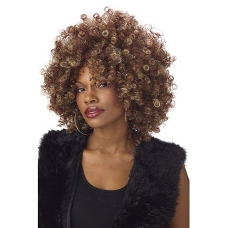 Fine Foxy Sexy Afro Wig for Adult Halloween Costume