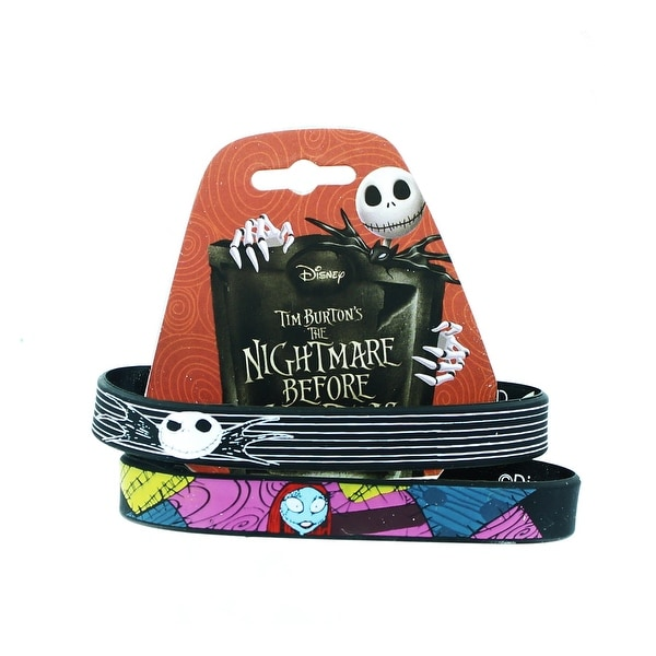 Nightmare Before Christmas Jack & Sally Wristband Set