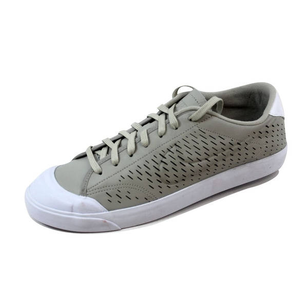 Nike Men's All Court 2 Low Leather Pale Grey/Pale Grey-White 724271-001