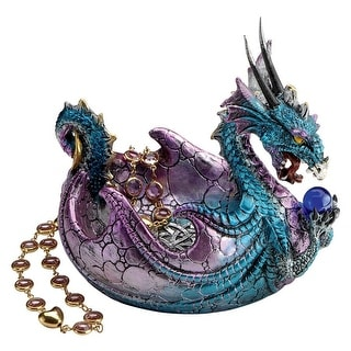 Design Toscano Halloween  The Dragon of Wharncliffe Crags Offering Vessel