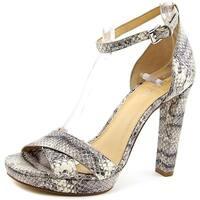 MICHAEL Michael Kors Divia Crisscross Ankle-Strap Sandal, Roccia