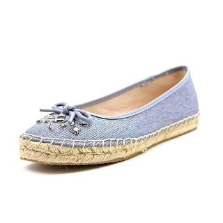 Style & Co Valorr Women Round Toe Canvas Blue Espadrille