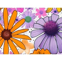 """Pack Of 120, Summer Garden Recycled Floral Tissue Prints Paper 20"""" X 30"""" Sheets Made In Usa"""