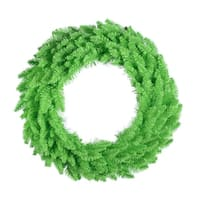 """30"""" Lime Wreath  70Lime  260T"""