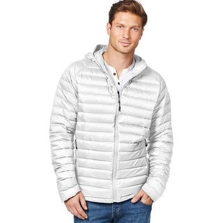 Weatherproof 32 Degrees Packable Quilted Down Jacket Medium M Bright White