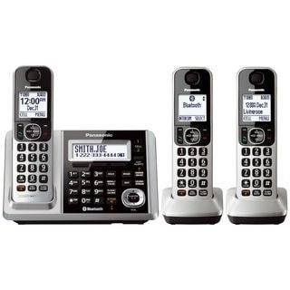 Panasonic KX-TGF373S DECT 6.0 3-handset Landline Telephone (Refurbished)