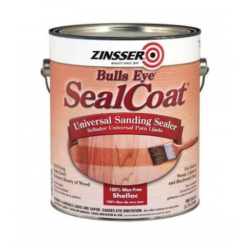 Zinsser 824H Bulls Eye Sealcoat Sanding Sealer, 1 Quarts