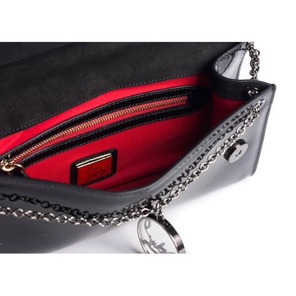 b8356b68d73 Shop Christian Louboutin Women's Black Patent Leather Rivera Clutch ...