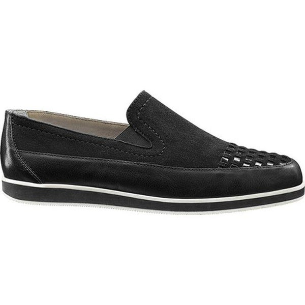 6ac70518 Shop ara Women's Laurel 36245 Loafer Black Leather/Suede/Patent - On Sale -  Free Shipping Today - Overstock - 17042051