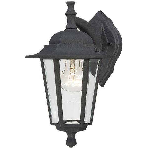 Westinghouse 67846 One-Light Wall Lantern, 100 Watt, Black