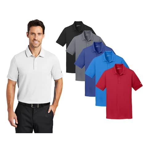 Nike Men's Solid Icon Pique Modern Fit Polo