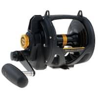 Penn Fishing 1292938 Sql50vsw Squall Lever Drag Reel 55.60 Oz. Black / Gold