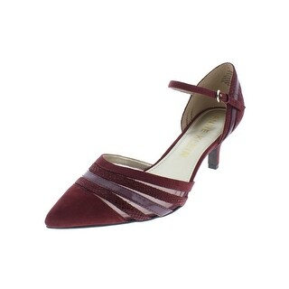 Anne Klein Womens Fayme Pumps Solid Pointed Toe