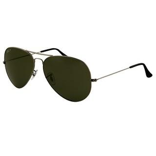 Ray-Ban RB3025 004/58 Aviator Sunglasses 62MM - Grey