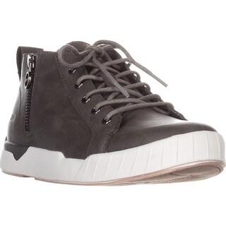 JSport by Jambu Cranford Fashion High-Top Sneakers, Grey