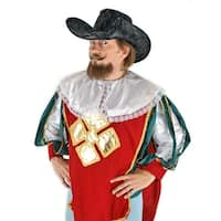 Renaissance Musketeer Black Adult Hat Costume Accessory One Size