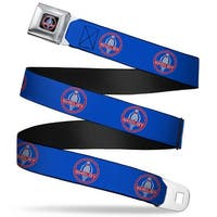 Shelby Cobra Full Color Black Gray Red Blue Shelby Cobra Weathered Blue Seatbelt Belt