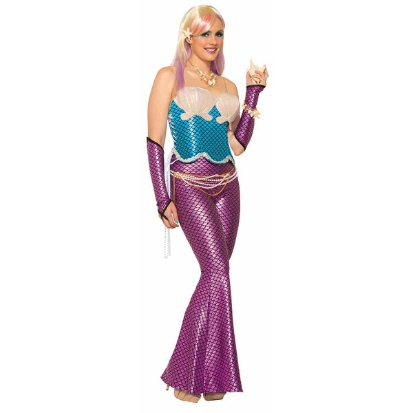 ee83d5c0b6 Shop Mermaid Sexy Corset Costume Top Blue One Size - multi-color - Free  Shipping On Orders Over  45 - Overstock - 13727921