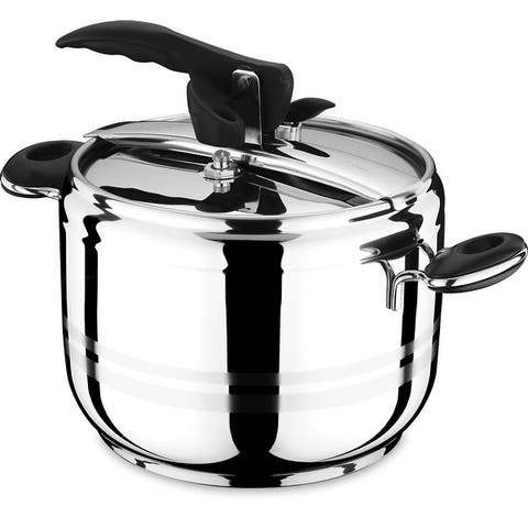 Stainless Steel Pressure Cooker, Manual Slow Cooker and Rice Cooker