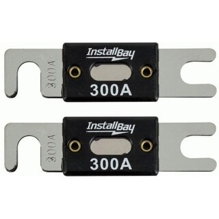 The InstallBay ANL300-10 The InstallBay ANL 300 AMP Fuse - Package of 10 - 300 A